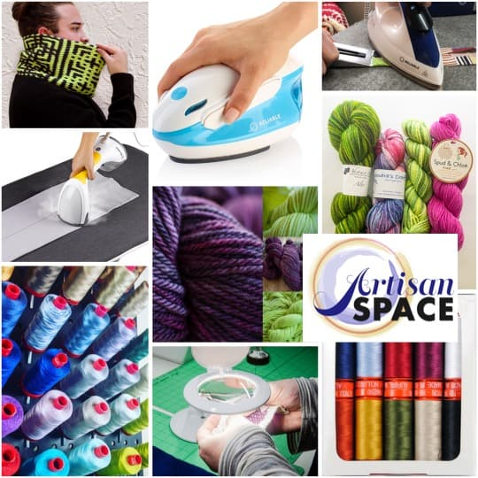 Artisan Space for knitting, stitching, quilting, and more!