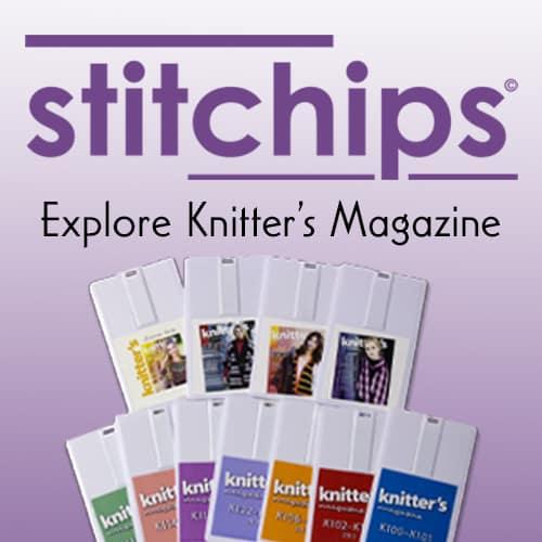 Stitchips Explore Knitter's Magazine